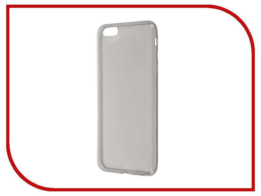 Аксессуар Чехол-накладка BROSCO для iPhone 6 Plus Black IP6P-TPU-BLACK<br>