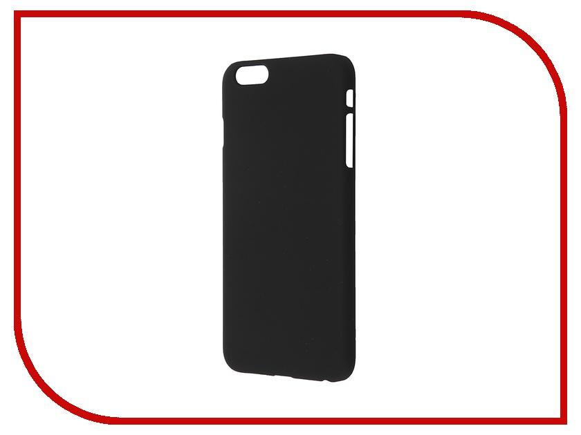 Аксессуар Чехол-накладка BROSCO Softtouch для iPhone 6 Plus Black IP6P-SOFTTOUCH-BLACK<br>