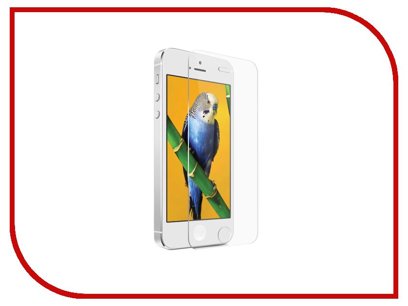 Аксессуар Защитное стекло BROSCO 0.3mm для iPhone 5 / 5S IP5-MATTE-GLASS<br>