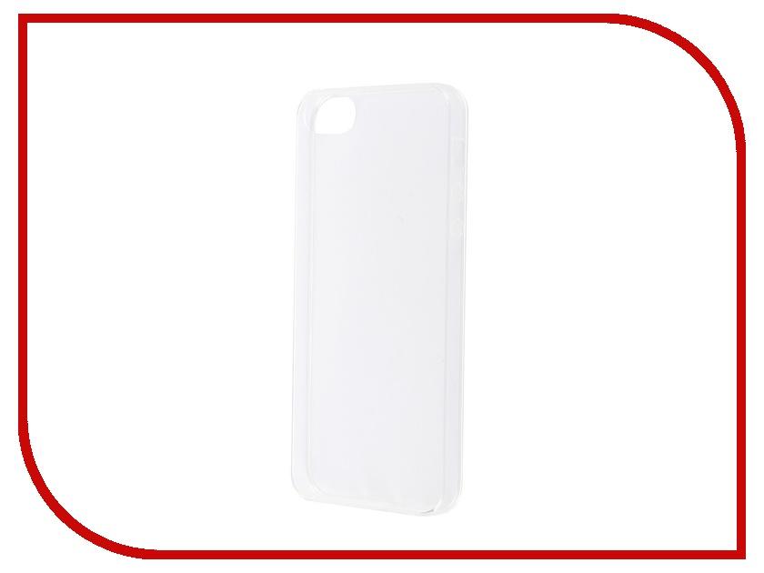 Аксессуар Чехол-накладка BROSCO для iPhone 5 IP5-TPU-TRANSPARENT<br>