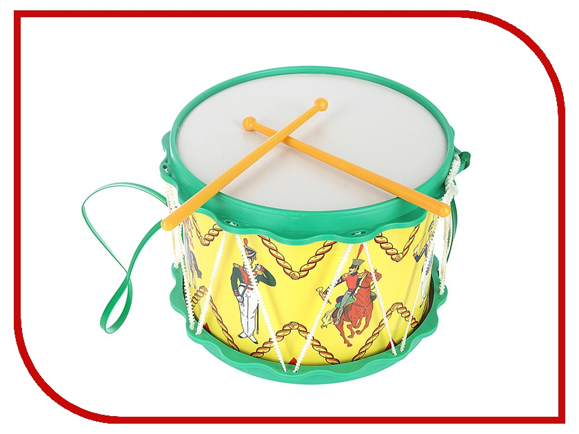 Детский музыкальный инструмент ТулИгрушка Барабан Гусарский С2-2 детский музыкальный инструмент onlitop барабан 679155