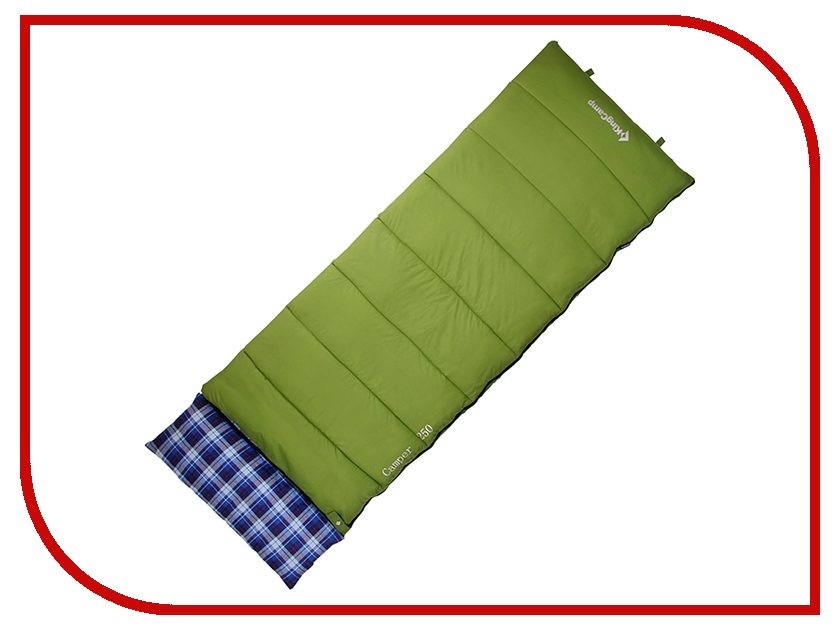 Cпальный мешок KingCamp Camper 250 Green посуда kingcamp picnic cooking wallet 2 person