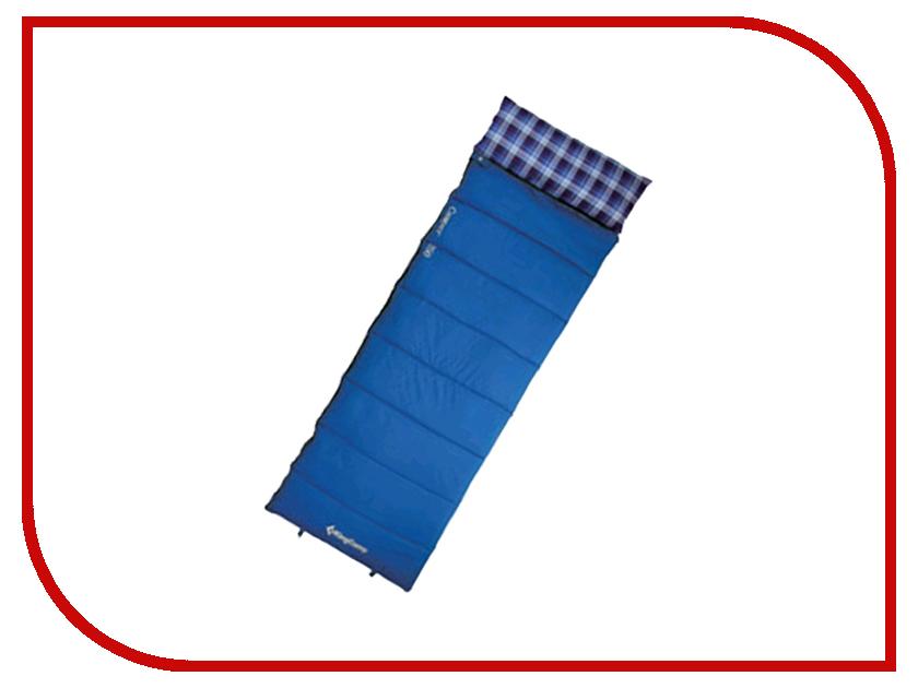 Cпальный мешок KingCamp Camper 300 Blue cпальный мешок kingcamp oasis 250 l blue