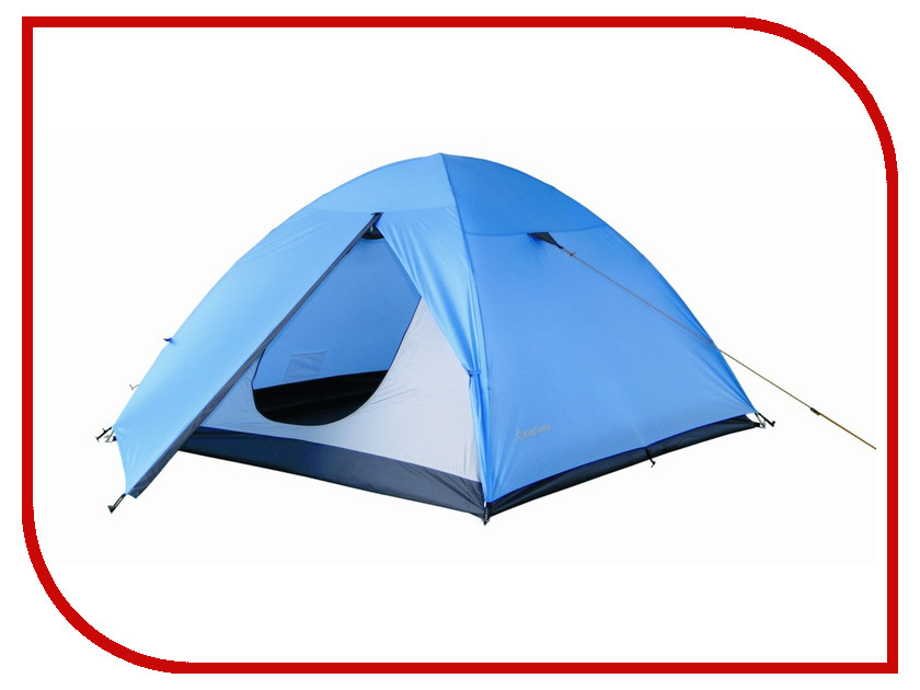Палатка KingCamp Hiker Fiber 2 Blue трековый светильник slv euro spot integrated led 143821