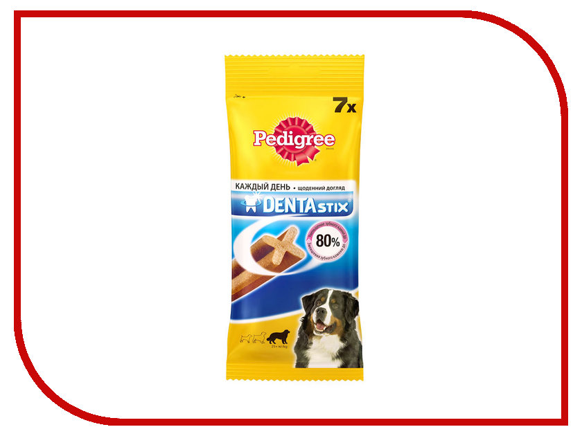 Корм Pedigree Denta Stix 270g для крупных собак 10109510<br>