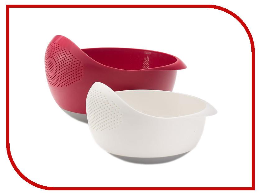 Кухонная принадлежность Joseph Joseph Prep&amp;Serve - набор из двух мисок-дуршлагов 98115<br>