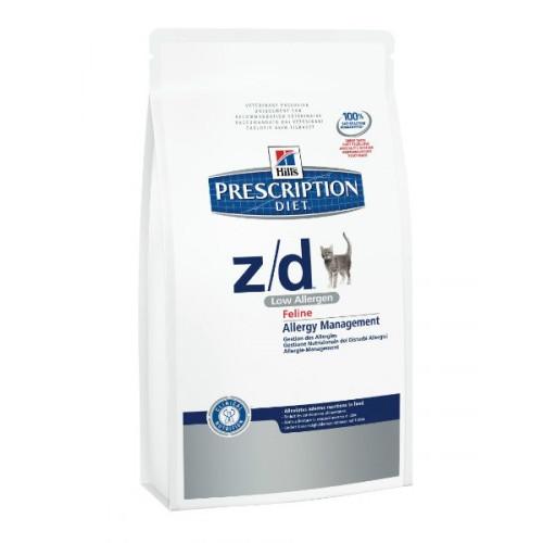 Корм Hills Диета Z/D лечение пищевых аллергий 2kg 4565 для кошек<br>