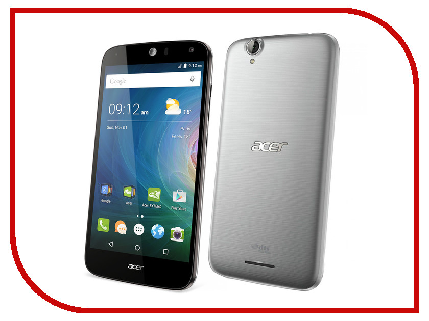 Сотовый телефон Acer Liquid Z630 Silver<br>