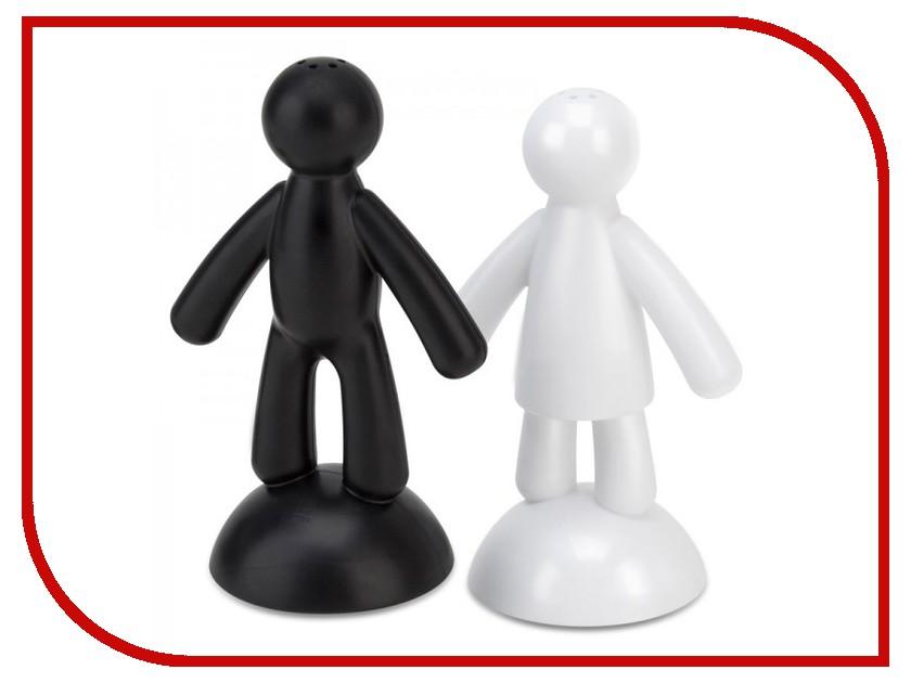 Кухонная принадлежность Umbra Buddy Black-White - набор солонка и перечница 330282-050<br>