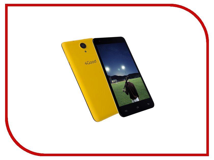 Сотовый телефон 4Good S555m 4G Yellow<br>