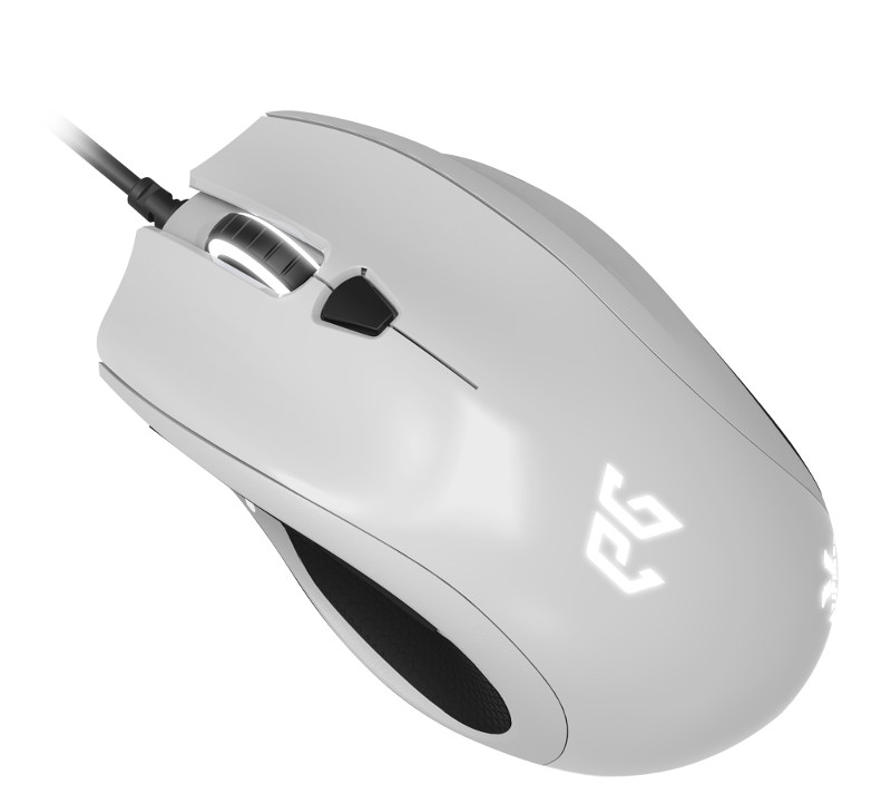 Мышь проводная EpicGear Cyclops X White USB<br>