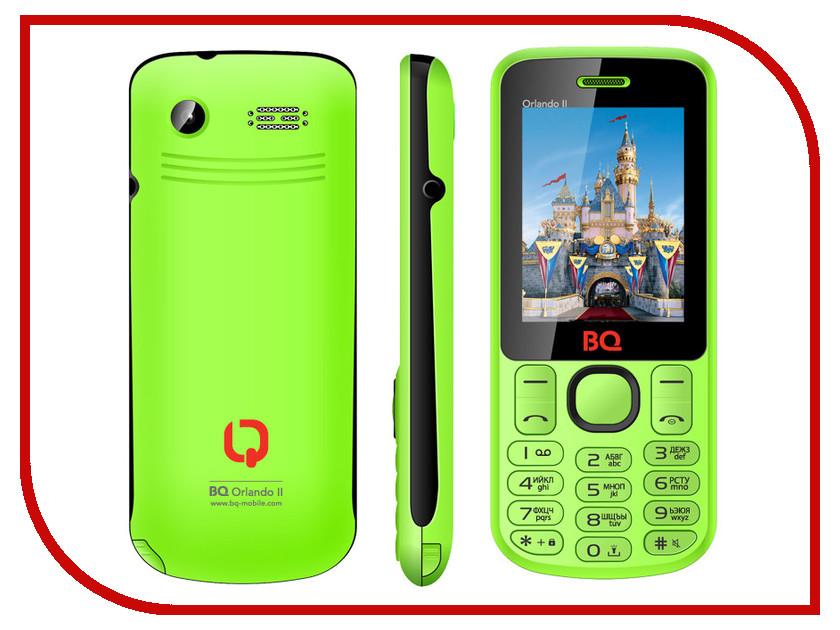 Сотовый телефон BQ BQM-2403 Orlando II Green