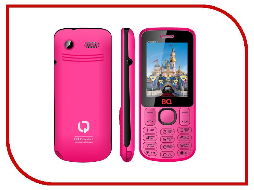 Сотовый телефон BQ BQM-2403 Orlando II Pink