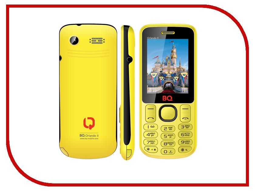 Сотовый телефон BQ BQM-2403 Orlando II Yellow