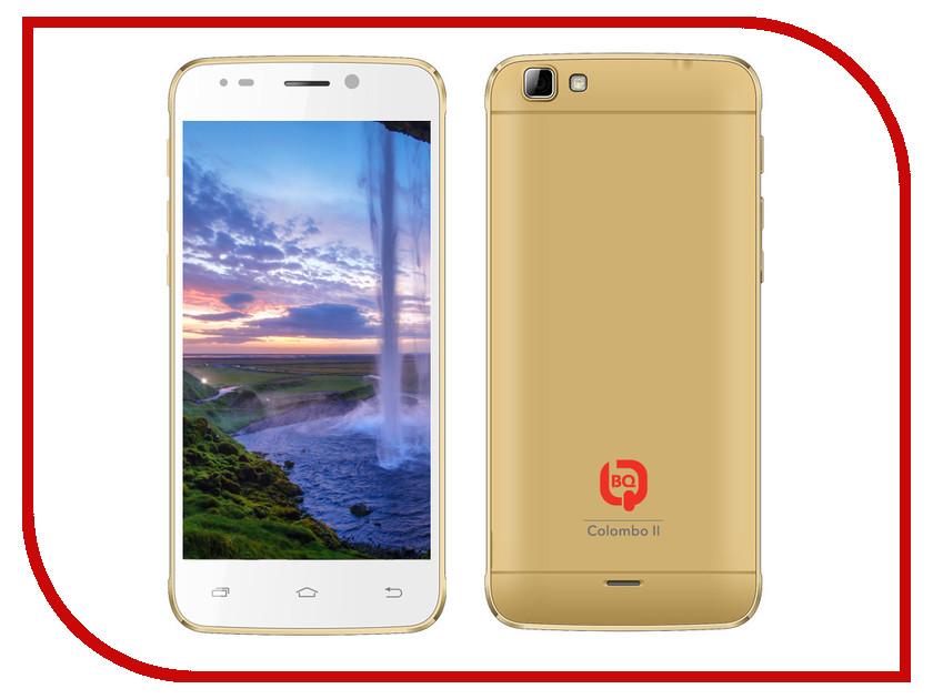 Сотовый телефон BQ BQS-5003 Colombo II Gold<br>