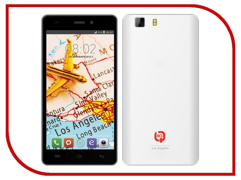 Сотовый телефон BQ BQS-5006 Los Angeles White<br>