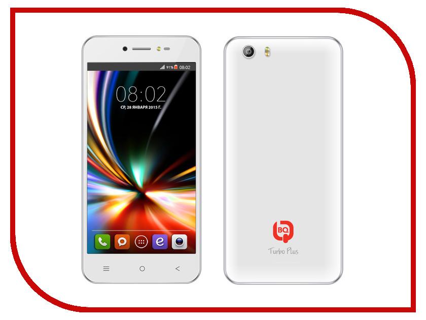Сотовый телефон BQ BQS-5055 Turbo Plus White<br>