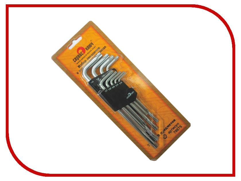 Набор инструмента Сервис Ключ TORX 70675
