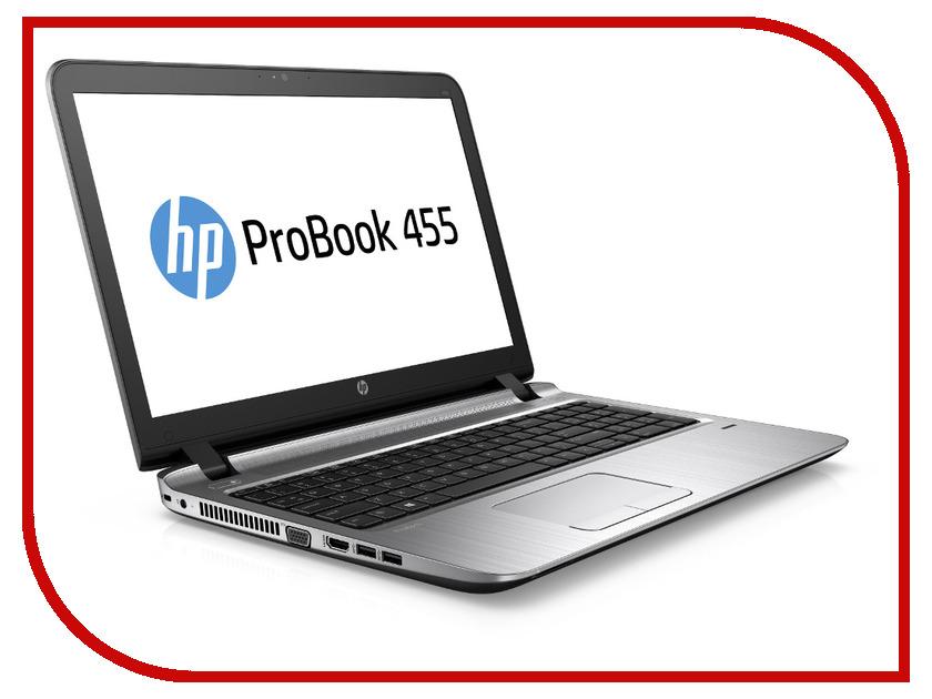 Ноутбук HP ProBook 455 G3 P4P61EA (AMD A8-7410 2.2 GHz/4096Mb/500Gb/DVD-RW/AMD Radeon R5/Wi-Fi/Bluetooth/Cam/15.6/1366x768/Windows 7 64-bit)<br>