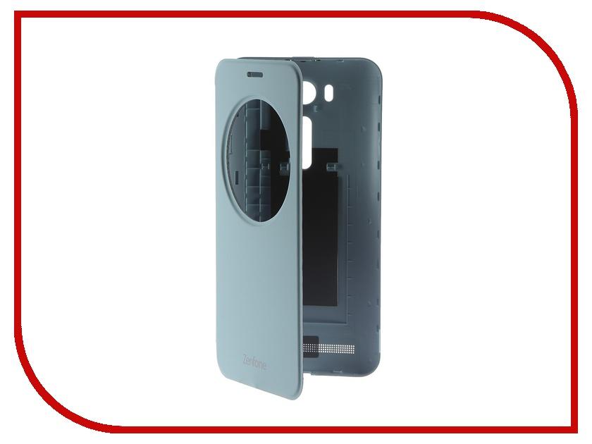 Аксессуар Чехол ASUS ZenFone 2 Laser ZE500KL/ZE500KG View Flip Cover Blue 90AC00G0-BCV004<br>