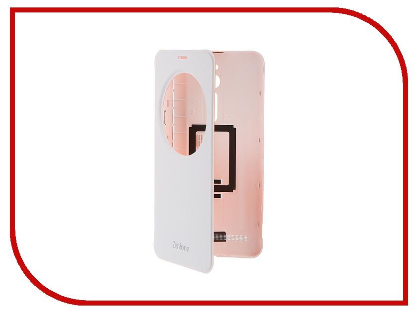 Аксессуар Чехол ASUS ZenFone 2 ZE550KL View Flip Cover White 90AC00R0-BCV002<br>