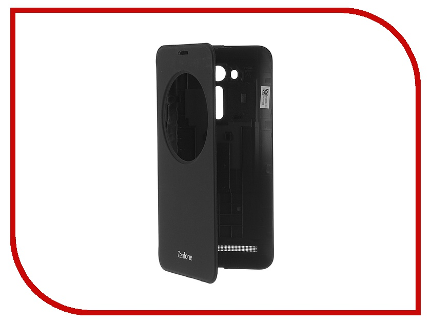Аксессуар Чехол ASUS ZenFone 2 ZE550KL View Flip Cover Black 90AC00R0-BCV001<br>