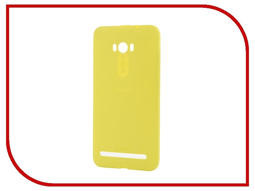 Аксессуар Чехол ASUS ZenFone Selfie ZD551KL Bumper Case PF-01 Yellow 90XB00RA-BSL370