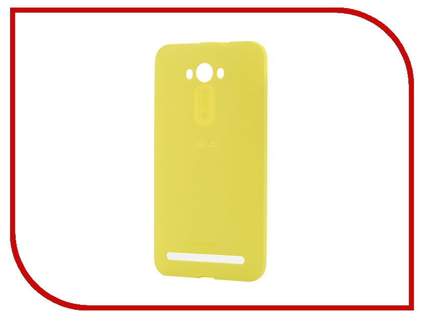все цены на Аксессуар Чехол ASUS ZenFone 2 ZE550KL/ZE551KL Bumper Case PF-01 Yellow 90XB00RA-BSL310 онлайн