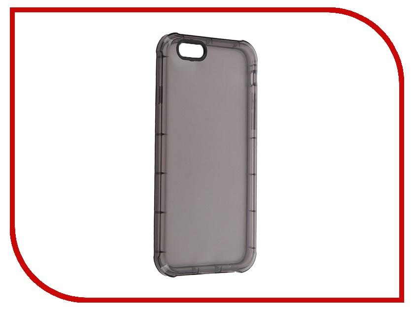 Аксессуар Чехол-накладка BROSCO для iPhone 6 / 6S IP6-HARD-TPU-BLACK