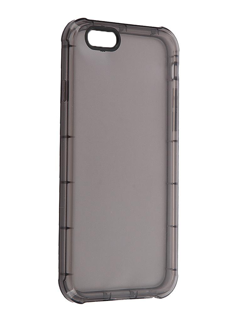 Аксессуар Чехол-накладка iPhone 6 / 6S BROSCO IP6-HARD-TPU-BLACK<br>