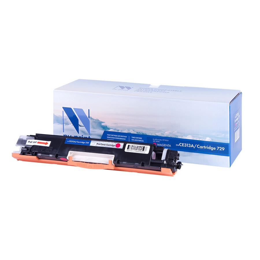 Картридж NV Print CE313A/729 Magenta для HP Color LJ PRO CP1025/CP1025NW/i-SENSYS LBP7010C/LBP7018C
