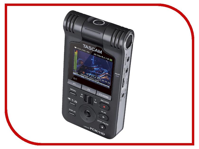 Диктофон Tascam DR-V1HD tascam tc 1s black