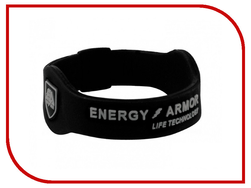 Браслет Energy-Armor Black-Silver M<br>