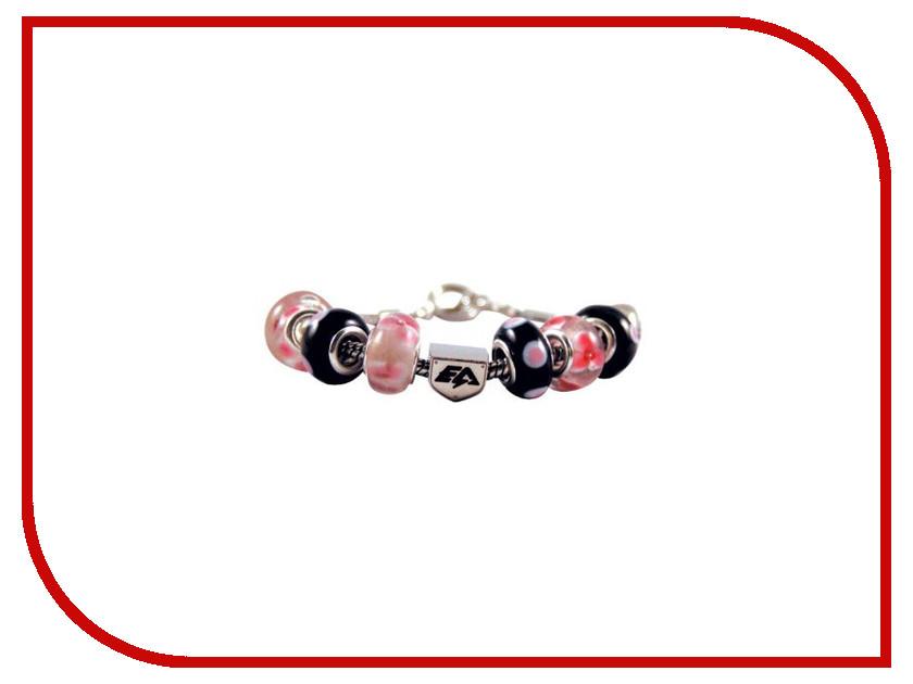 Браслет Energy-Armor Womens Charm Bracelet Black-Pink M