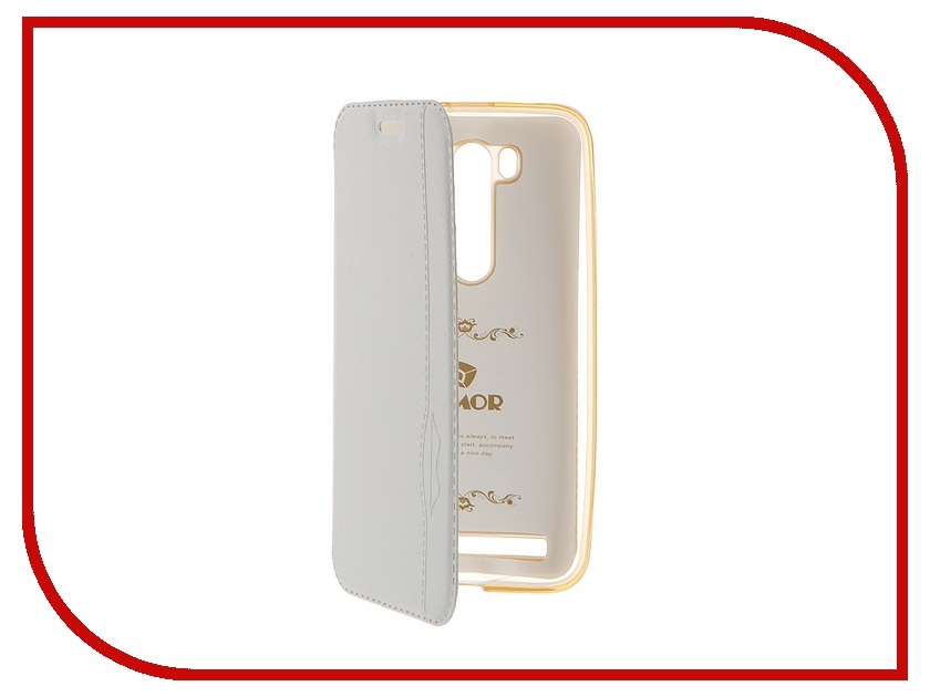 Аксессуар Чехол Armor Air for ASUS ZenFone 2 Laser 5 ZE500KL/ZE500KG Slim White GB-F-ASZE500KL/500KG-WH
