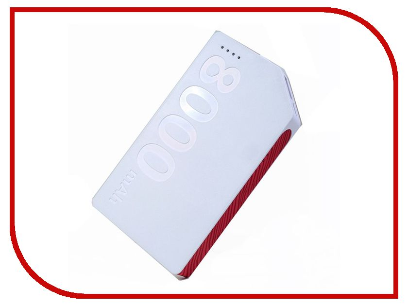 Аккумулятор Remax Kand Platinum RM1-009 8000mAh White-Red free shipping 100% test original for hp p1505 power supply board rm1 4627 000 rm1 4627 110v rm1 4628 000 rm1 4628 220v on sale