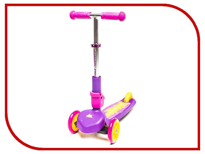 Самокат Tech Team TT Cosmic Pro Pink-Purple
