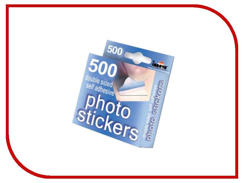 Фотоальбом Innova Q01121 - самоклеющиеся фотостикеры 500шт<br>