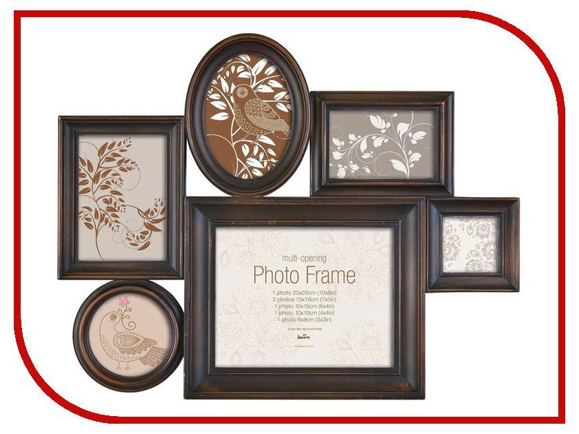 Рамка для фото Innova Milano III Family PI04984 Bronze