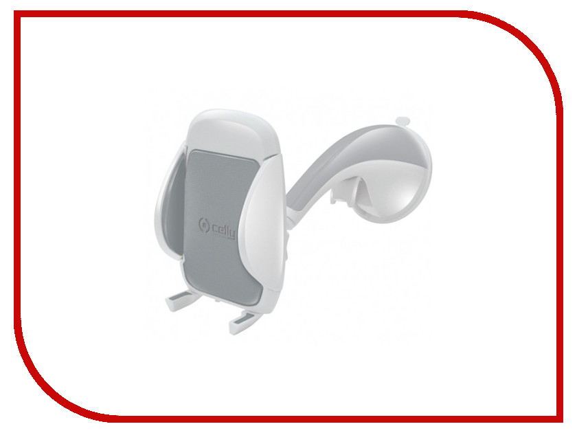 Держатель Celly FLEX1503 White-Grey