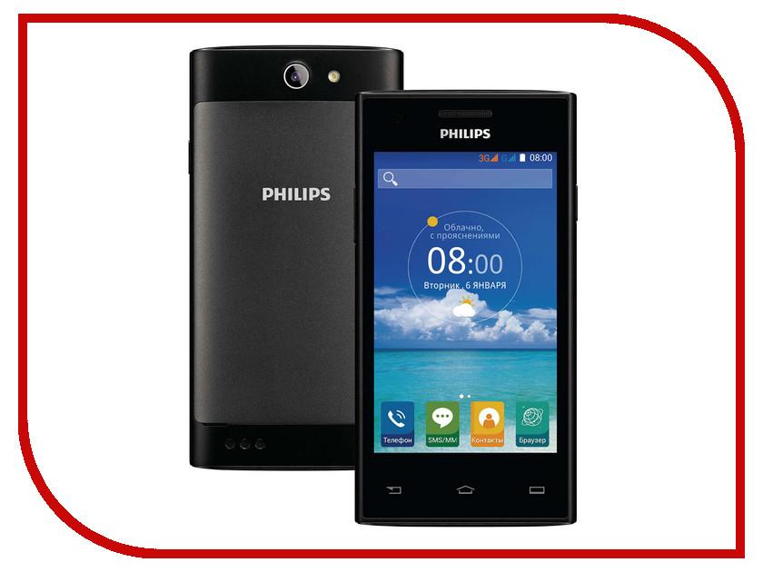 Сотовый телефон Philips S309 8Gb Black мультиварка philips hd4734 03
