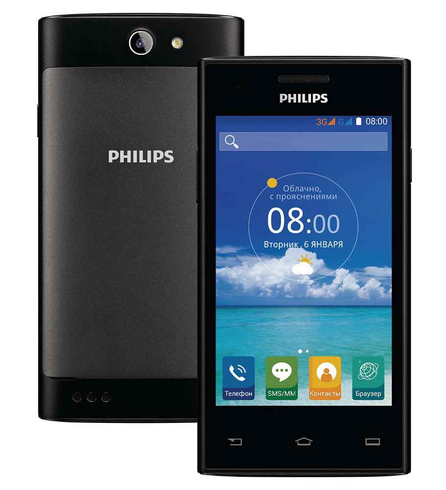Сотовый телефон Philips S309 8Gb Black<br>