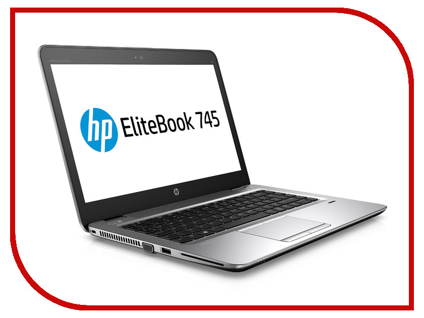 Ноутбук HP EliteBook 745 G3 P4T40EA (AMD A10-8700B 1.8 GHz/8192Mb/256Gb SSD/No ODD/AMD Radeon R6/Wi-Fi/Cam/14.0/1920x1080/Windows 7 64-bit) hewlett packard hp лазерный мфу печать копирование сканирование