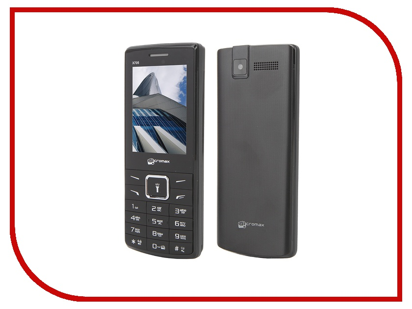 Сотовый телефон Micromax X705 Black