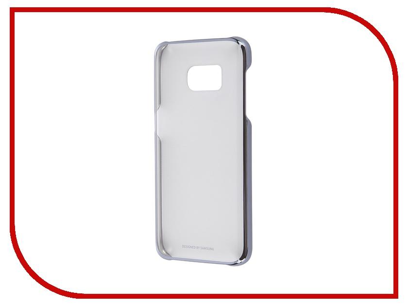 Аксессуар Чехол-накладка Samsung Galaxy S7 Clear Cover Black EF-QG930CBEGRU<br>