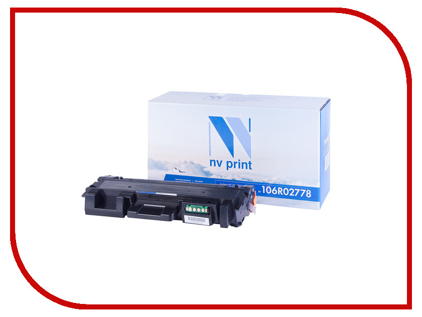Фото - Картридж NV Print 106R02778 для Xerox Phaser 3052/3260/WC 3215/3225 картридж nv print 106r01277 для xerox wc 5016 5020