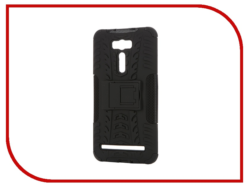 Аксессуар Чехол ASUS ZenFone 2 Laser ZE601KL SkinBox Defender Case Black T-S-AZZE601KL-06<br>