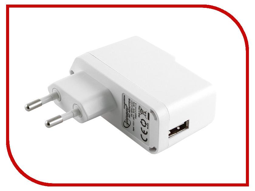 Зарядное устройство Gembird MP3A-UC-AC1 White