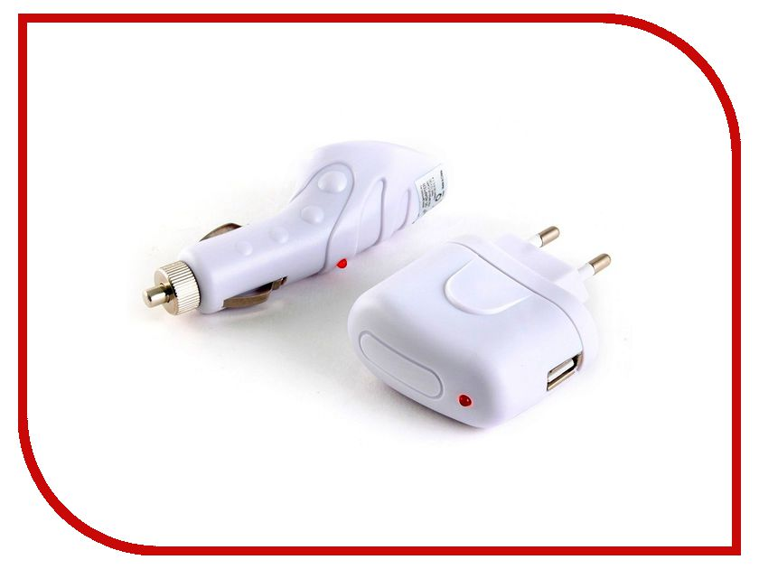 Зарядное устройство Gembird MP3A-UC-AC4 White