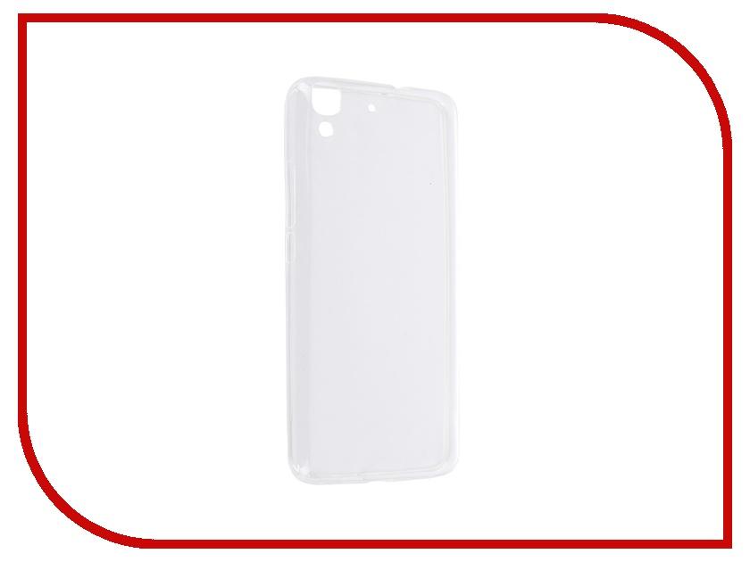 ��������� ����� Huawei Y6 SkinBox Slim Silicone Transparent T-S-HY6-006